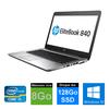 HP EliteBook 840 - Core I5 - 8Go de RAM - DD 128Go SSD - Windows 10
