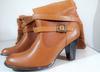 bottines femme en cuir - marque: Marie Claire taille 40