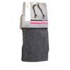 Collant neuf Monoprix T 2 en maille gris chiné