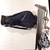 Ensemble de golf : Housse, clubs de golf pour gauchers, balles, accessoires