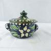 Petite marmite en poterie Alsacienne