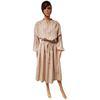 Neuf & étiquette robe Monoprix T 44 écrue à rayures