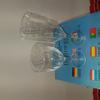 Services 18 pièces treviso:6 verres à eau 25 cl; à vin 20cl et 6 flutes 19 cl - treviso