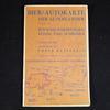 Lot 3 Cartes routières Allemande Ancienne 1932-1933