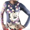 Tee-shirt manche longue Desigual Taille M