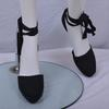 Sandales compensées à rubans - Next - 40