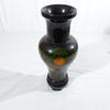 Vase en plastique décoré