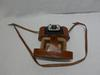 Ancien appareil photo  marque - UNI-FEX  avec Son étui en cuir marron