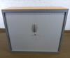 Armoire mi-haute    104x43x120cm - Gris