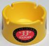 Cendrier publicitaire Bière 33 Export jaune