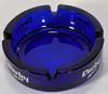 Cendrier en verre Derby Blue