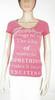 T-Shirt Femme Rose GUESS T S.