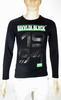 t-Shirt Homme Noir RIVALDI T M.