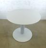 Table ronde    90x90x74cm - Blanc