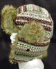 Chapka imprimée style aztèque , taille 10/12 ans