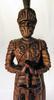 Statue en bois sculpté à la main