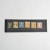 6 timbres français Napoléon