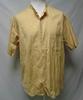 Chemise jaune en coton et lin - B.W. Quality - taille 42