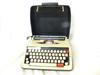 Machine à écrire mécanique portative Brunsviga vintage