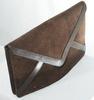 Pochette Vintage Marron chocolat