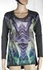 Top Femme Gris/Vert DERHY Taille S