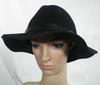 Chapeau Femme Noir Taille L.