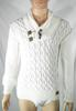 Pull Homme Ecru YOUNG ET RICH Taille S.