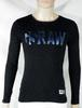 Pull Homme Noir G-STAR RAW Taille M.