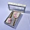 Parure de Toilette Vintage - Peigne, Miroir & Brosse à cheveux