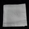 11 serviettes de table en métis damassé
