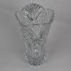 Grand vase en cristal moulé marque Cristal d'Arques, années 60/70. Bel état, hauteur 30 cm