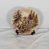 Assiette décorative en céramique