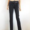 Slim noir avec ceinture en simili croisé pour femme de la marque MIM RTTSDS151889