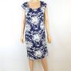 Taille 40 robe coupe droite à motifs floraux pour femme de la marque MS MODE RTTSDS211880