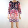 Taille L robe multicolore fluide pour femme RTTSDS281855