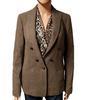 Blazer veste tailleur Maje en laine chinée T 40