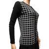 Neuf & étiquette veste gilet Monoprix à carreaux noirs et blancs T 1