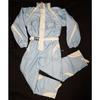 Combinaison de ski The Fictif Outwear bicolore bleu ciel & écrue T L