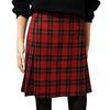 Jupe plissée écossaise 1.2.3 à carreaux jupe portefeuille vintage T 38