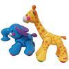 Girafe et éléphant Fisher Price jouets d'éveil animaux clic clac