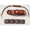 Lot de 3 bracelets bijoux tendance bohème ethnique