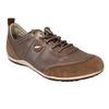 Chaussure basket sneakers Geox P 38 en cuir mordoré
