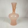 Vase opaline rose