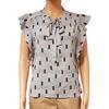 Top blouse tunique Morgan T 42 imprimé géométrique
