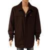 Veste blouson manteau Lacoste T 60/8 en laine ( 80%) marron