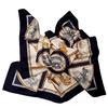 Foulard Hermès Voitures de dames Carré de soie 89 cm x 88 cm Design F de la Perrière