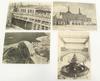 Lot de 4 cartes postales anciennes