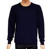 Neuf & étiquette Pull Monoprix homme T XL en laine et cachemire bleu marine