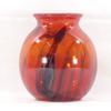 Vase en verre soufflé Murano - signé F.Silviy