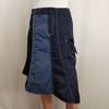 Jupe asymétrique bleue - One Step - Taille 36